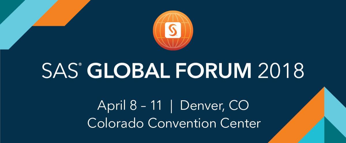 SAS Global Forum 2018