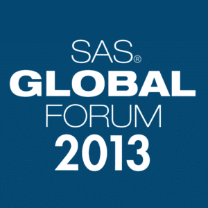 Latest SAS trends and developments from the SAS Global forum May 2013