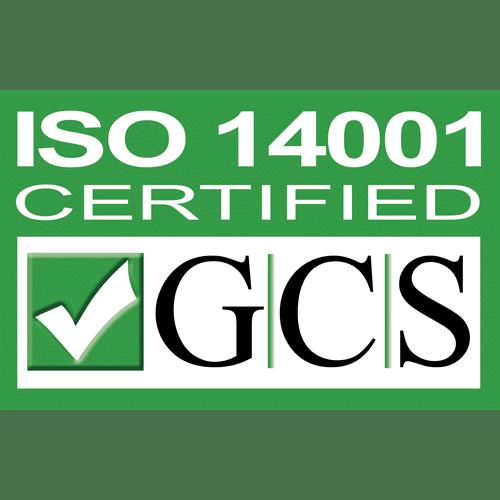 We meet ISO 14001 Standards