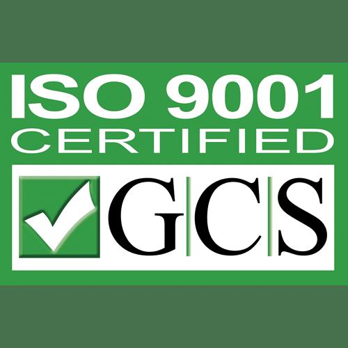 We meet ISO 9001 Standards